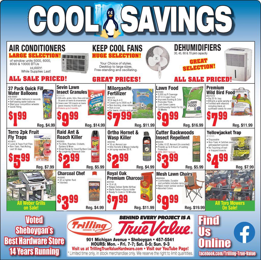 trilling true value hardware cool savings summer 2020 ad