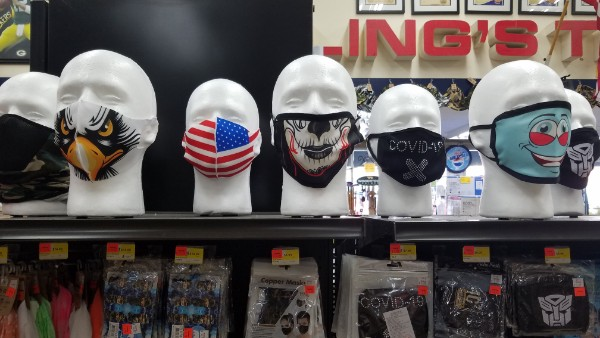covid19 masks at trilling hardware