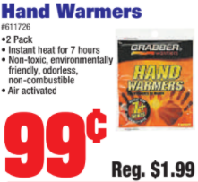 HANDWAREMERS TRILLING SPECIAL